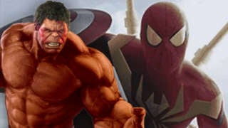 Red Hulk Iron Spider