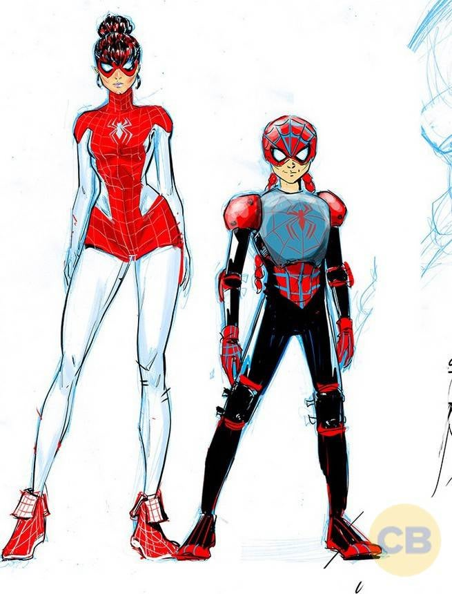 Spider-Man Costumes for Mary Jane and Annie Parker ...