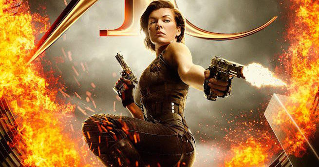 Resident Evil The Final Chapter Poster Released