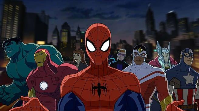 spider-man team up