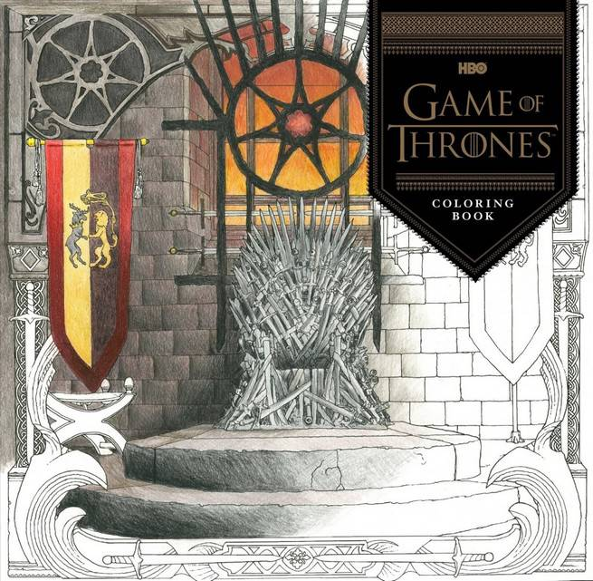 Game Of Thrones Is Getting An Official Coloring Book