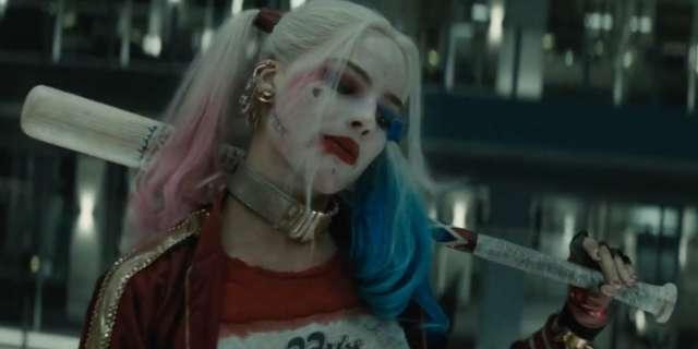 Suicide Squad Harley Quinn Elevator Scene