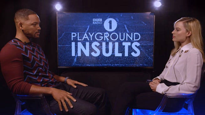 Suicide Squad's Margot Robbie Destroys Will Smith With Insults