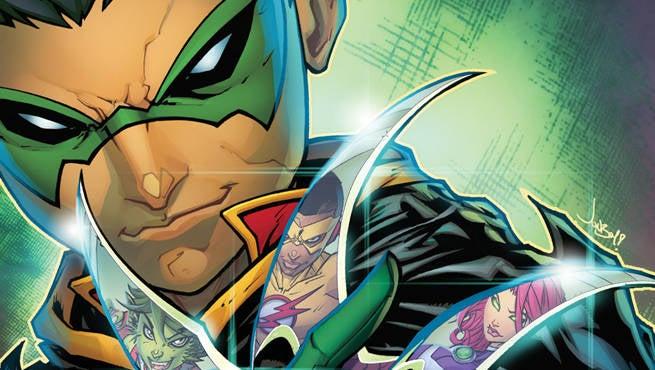 Teen Titans Rebirth 1 Header