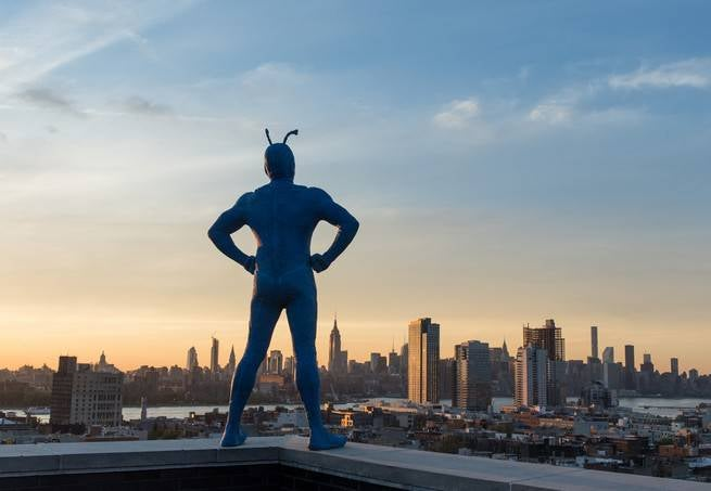 The Tick Greenlit by Amazon