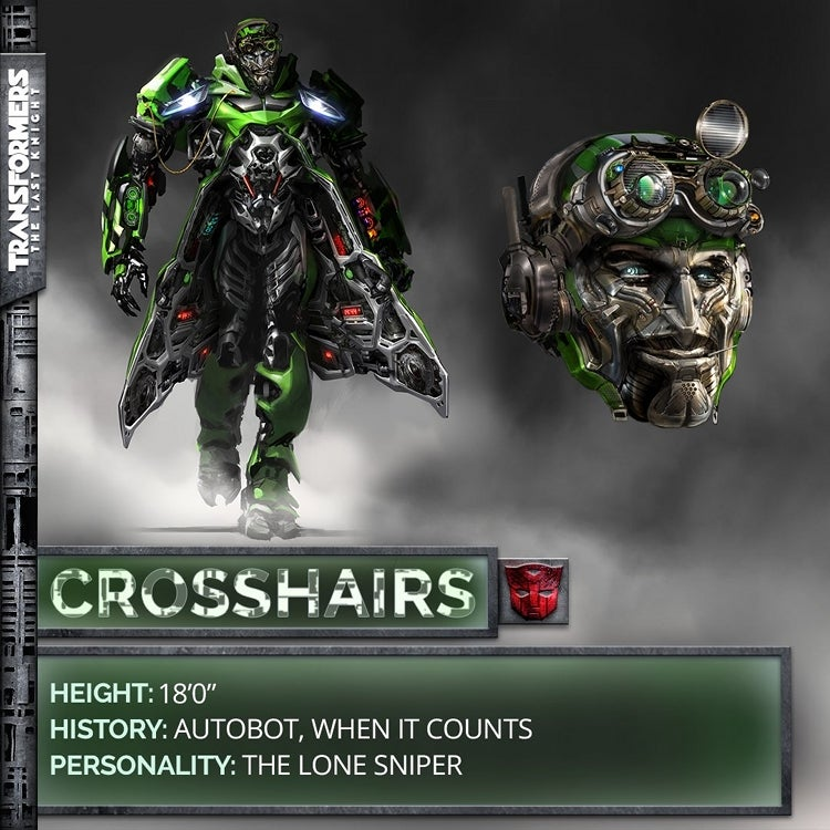 Transformers 5 new crosshairs character design revealed - Autobot drift transformers 5 ...