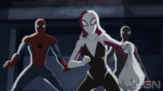 Ultimate Spider-Man Season 4 Spider-Gwen Preview
