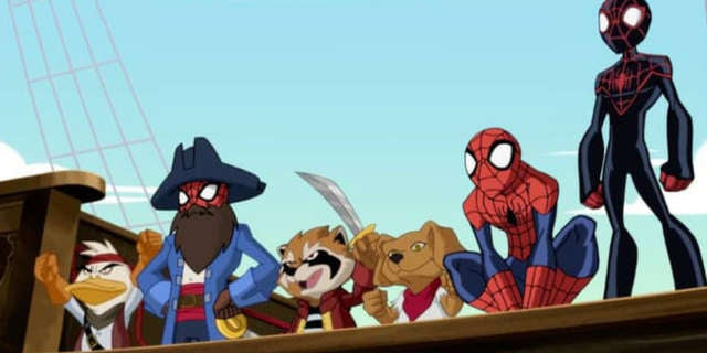 Ultimate SpiderMan Web Beard