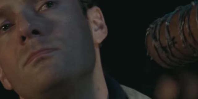 Walking Dead Season 7 Negan Kill Aaron