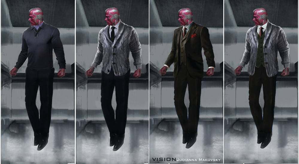 marvel releases tons of new concept art from captain