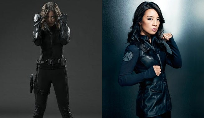 Agents of SHIELD - Daisy and May