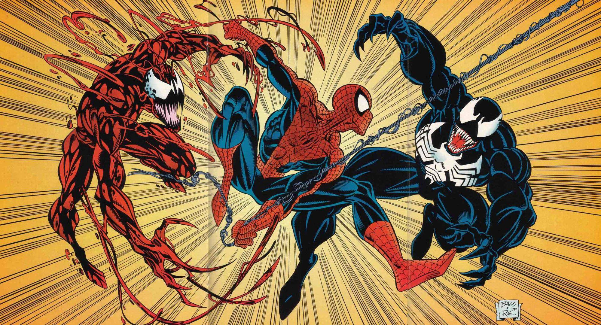 Amazing Spider-Man Vol 1 365 page 39-40 Maximum Carnage