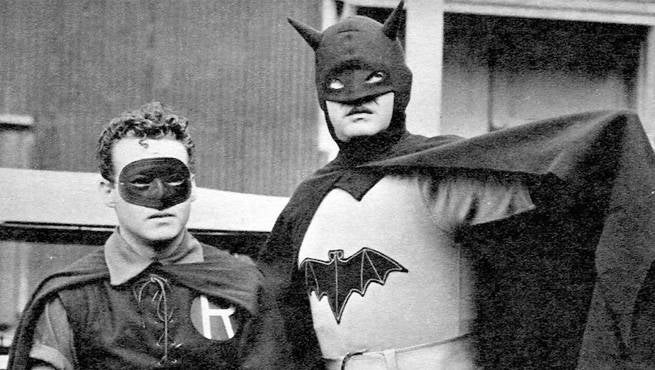 Batman Serial Header & DC Films: Evolution Of The Batsuit