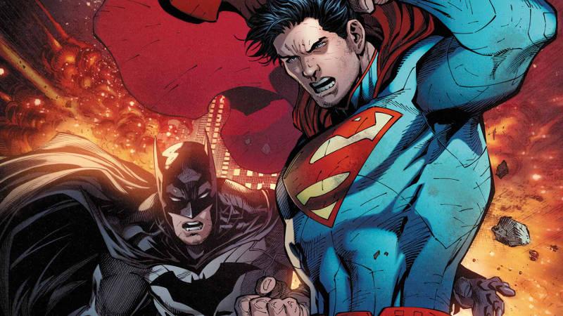 batman vs superman comic book