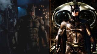 Batman Tactical Suit vs Owl Man Watchmen Costume