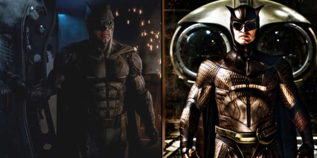 Batman Tactical Suit vs Owl Man Watchmen Costume
