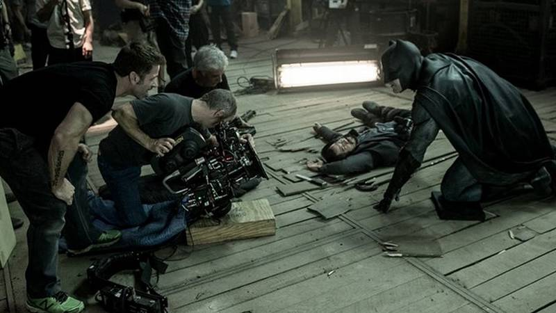Batman v Superman Warehouse Fight Scene
