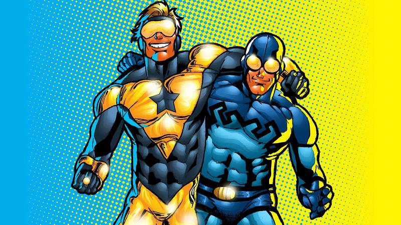 Blue Beetle and Booster Gold Best Friends in Comics