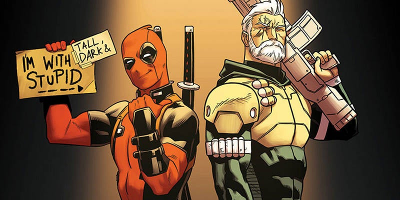 Cable and Deadpool Best Comic Book Friends