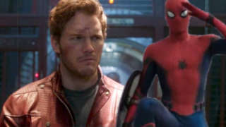 chris pratt tom holland spider-man star lord
