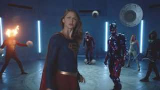 CW Superhero Fight Club 2.0 trailer - Supergirl Flash Arrow Legends Tomorrow