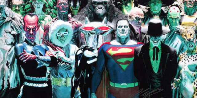 DCEU villains Alex Ross