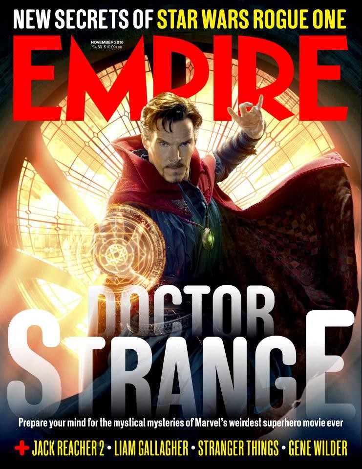 Doctor Strange Empire Cover