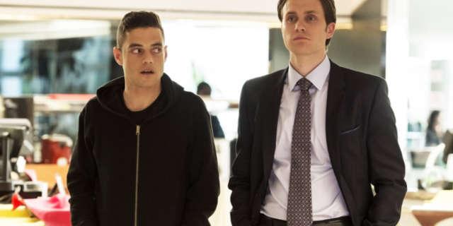 Elliot and Tyrell Mr. Robot Season 2