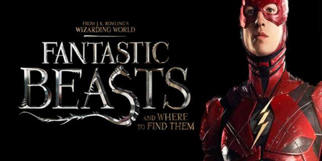 ezra miller the flash fantastic beasts
