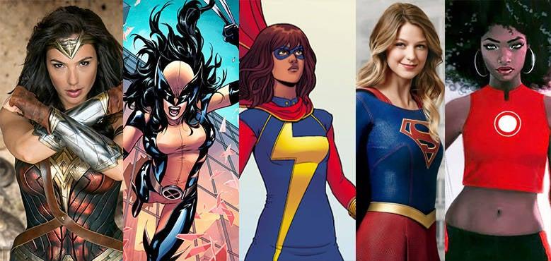 female-superheroes