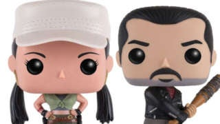 Funko TWD Negan Rosita Pop Header