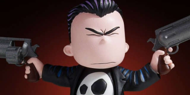 GG Punisher Young Statue