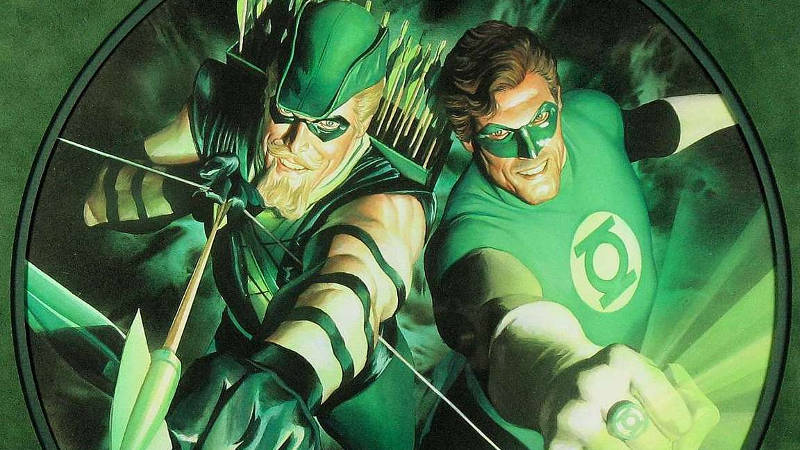 Green Arrow and Green Lantern