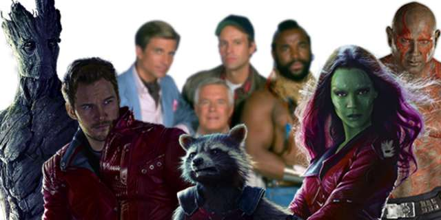 Resultado de imagem para A Team of the Galaxy - Guardians of the Galaxy x A Team Mashup