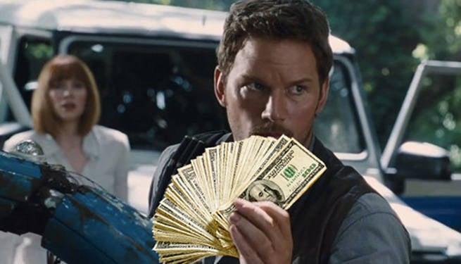 Jurassic World 2 sequel Budget