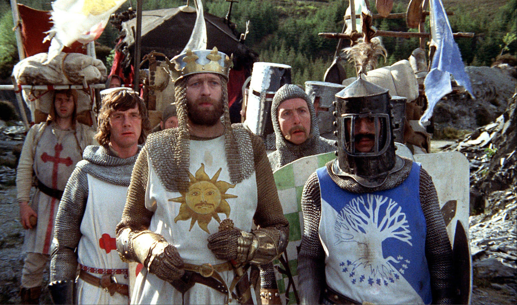 Monty Python & The Holy Grail Re-Cut As An Intense Drama