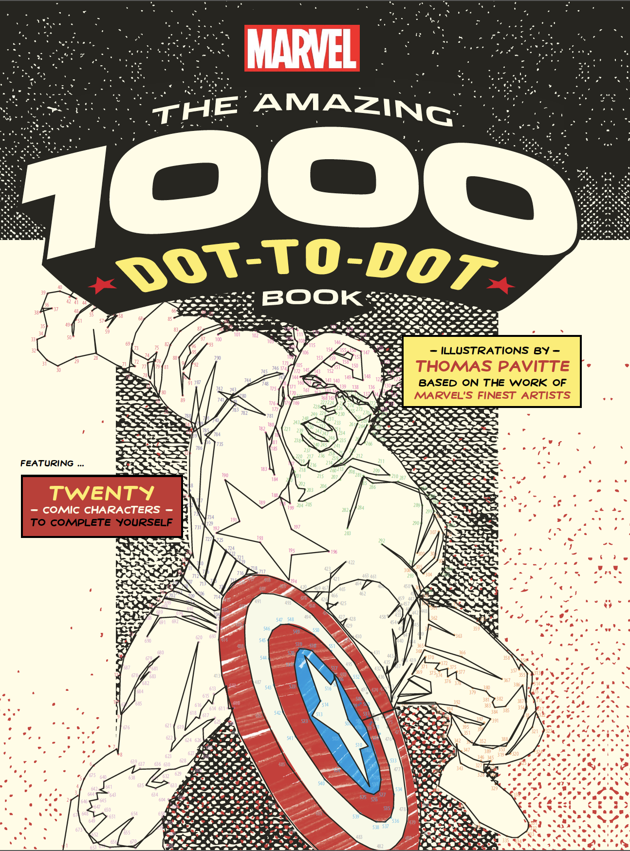 move over coloring books marvel introduces connect the dots