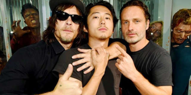 how to meet the cast of walking dead 2013