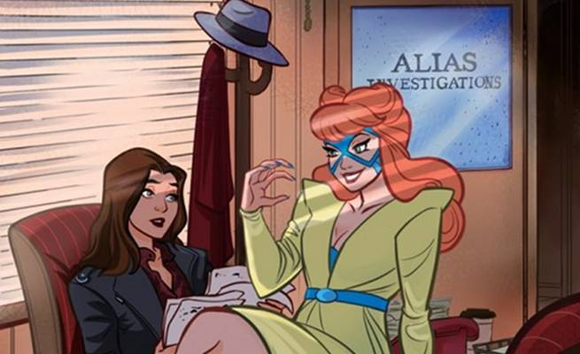 Patsy Walker aka Hellcat Best Frenemies Jessica Jones