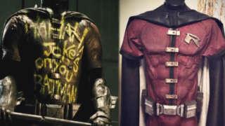 robin batman v superman cosplay