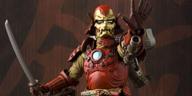Samurai Iron Man Header