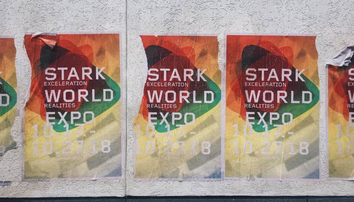 Spider-Man Homecoming Stark Expo Poster Set Photo
