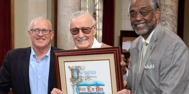 Stan Lee Day Header