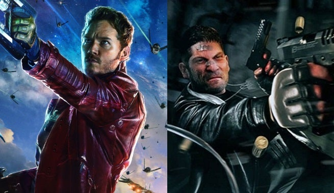 Chris Pratt Wants Star-Lord To Meet The Punisher In The Marvel Cinematic Universe