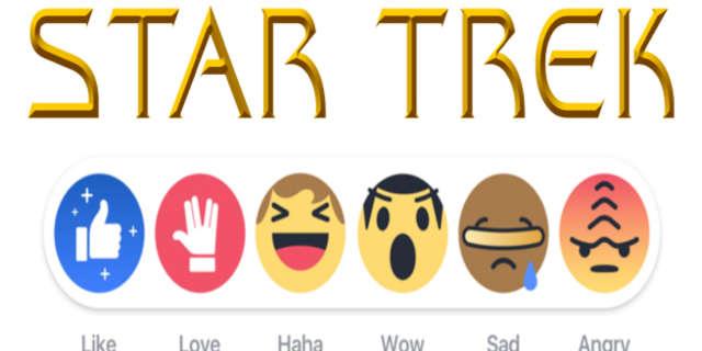 star trek facebook buttons