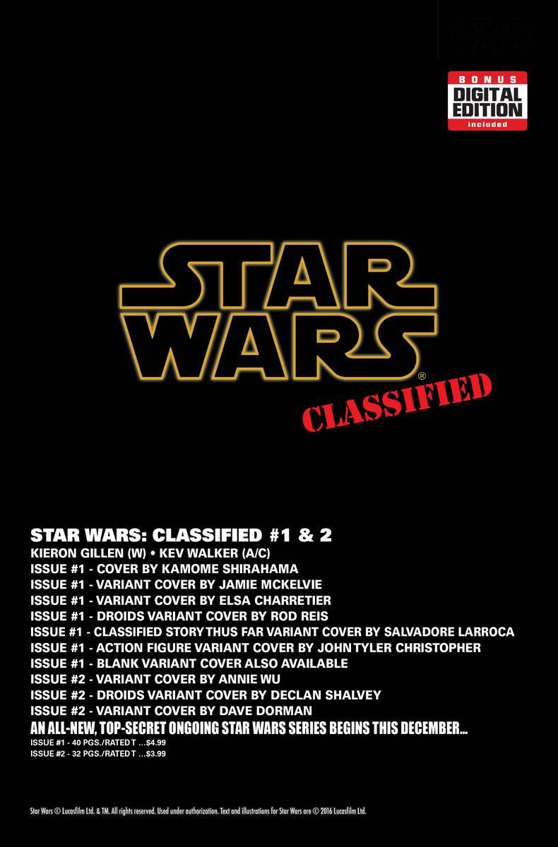 Таинственный комикс по вселенной «Star Wars»