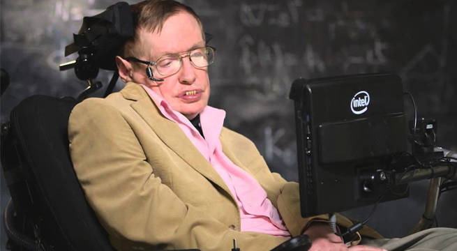 See Stephen Hawking's End of the World Prediction