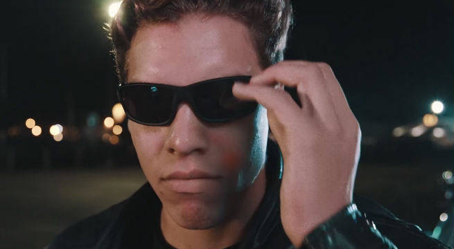Arnold Schwarzenegger's Son Perfectly Recreates Terminator 2 Bad To The Bone Scene