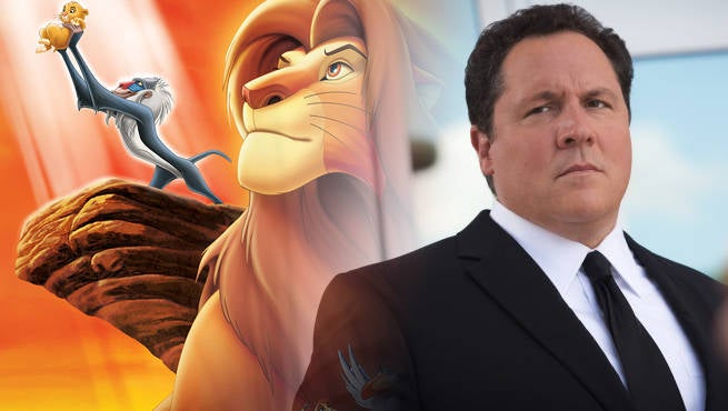 Jon Favreau Reteaming With Disney For The Lion King