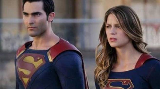 adventures of supergirl header